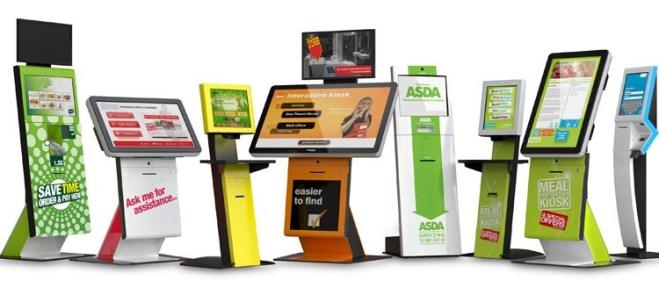 Kiosks point of sale