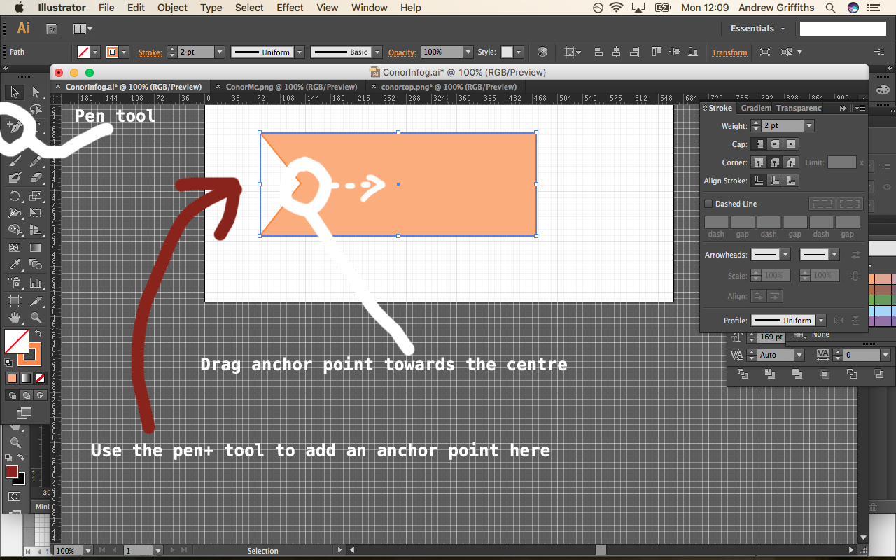 Making Banners in Adobe Illustrator – Small Business Dad