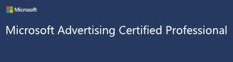 Bing ads certified ppc