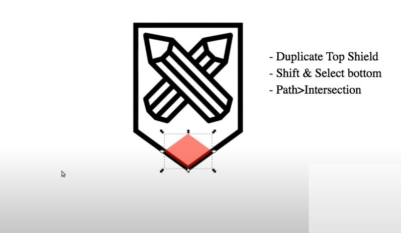 inkscape shield logo