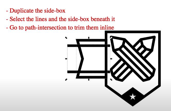 inkscape shield logo tutorial